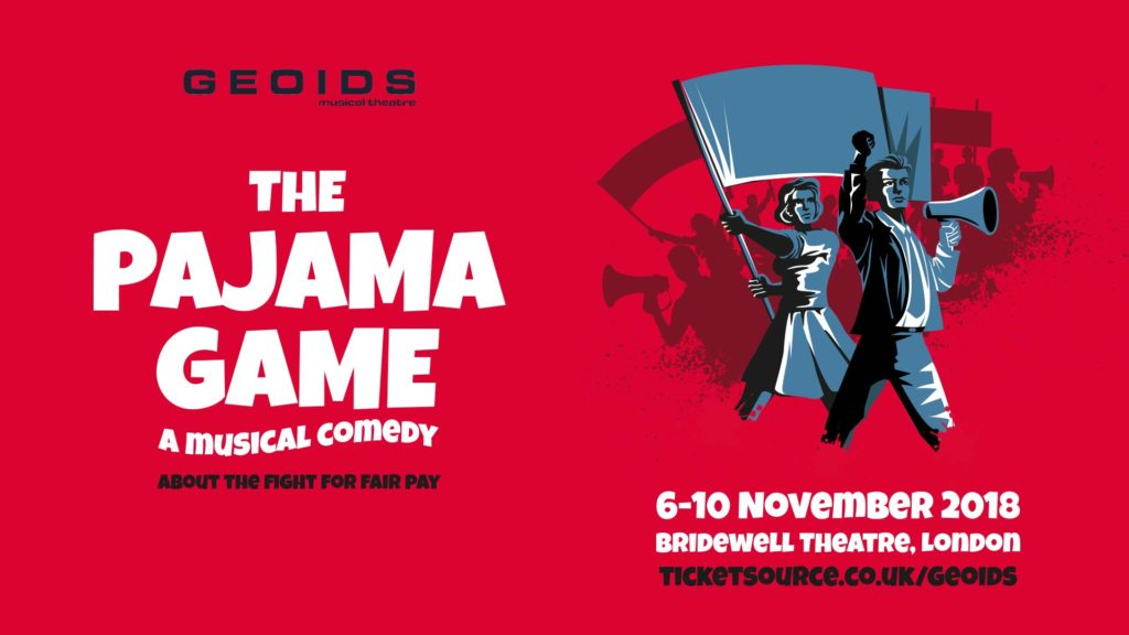 The Pajama Game - a musical comedy, 6-10 November, Bridewell Theatre